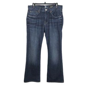 7 for All Mankind Brett Jeans Bootcut Stretch 32